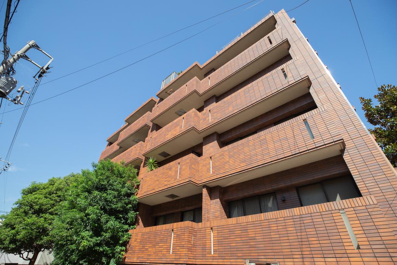 総戸数10戸のプライバシー性の高いマンション