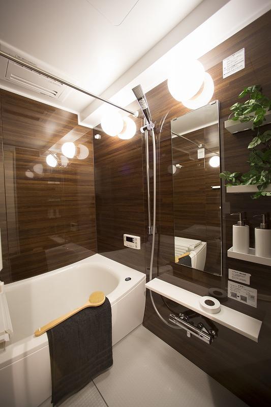 浴室換気乾燥機付ユニットバス 追焚機能付き