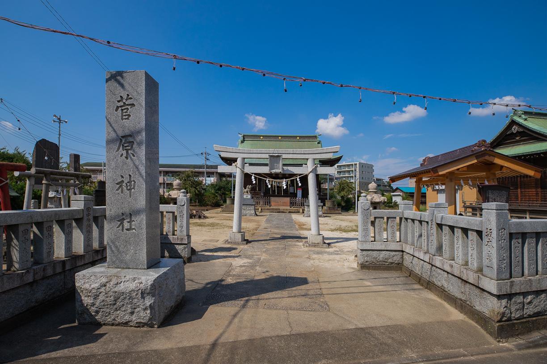成増菅原神社   徒歩約6分(約450m)
