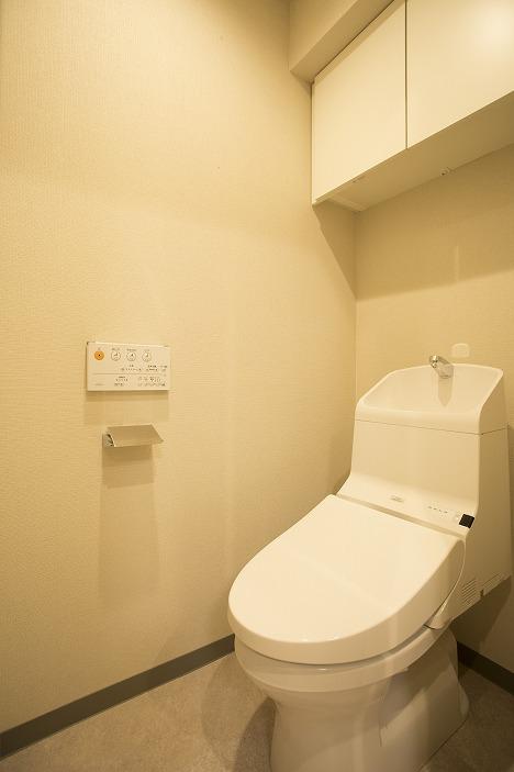 ウォッシュレット付のトイレ