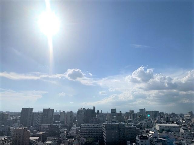 現地バルコニーからの眺望