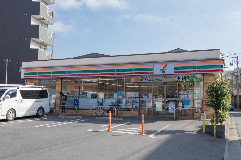 セブンイレブン江戸川松江6丁目店  徒歩約3分(約186m)