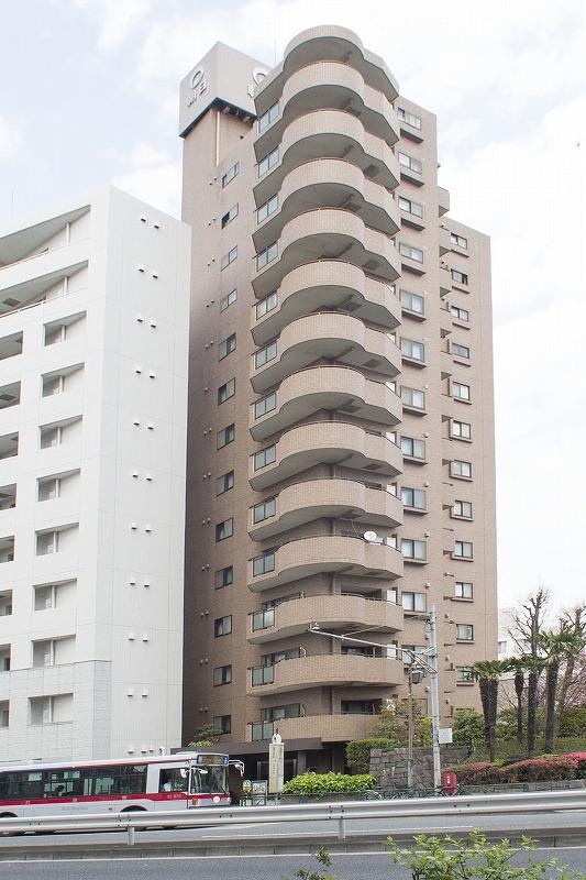 12階につき目黒・六本木・恵比寿方面が一望!