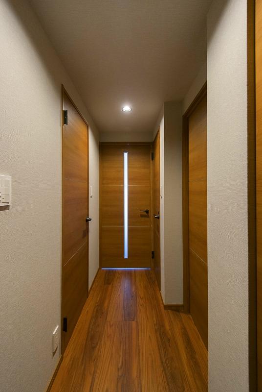 大容量収納付き玄関
