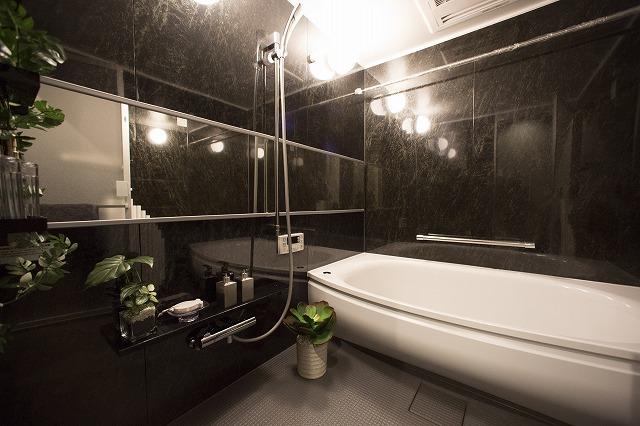 浴室乾燥機付で心地よい快適バスタイム
