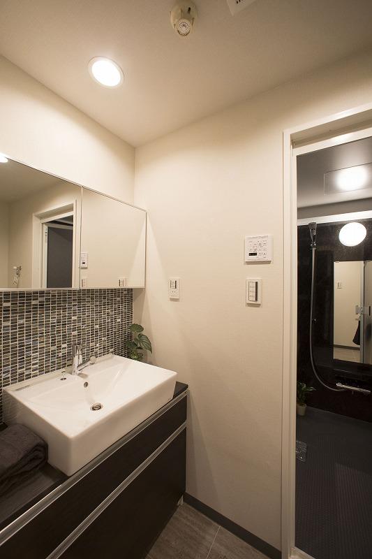 清潔感のある洗面化粧室!