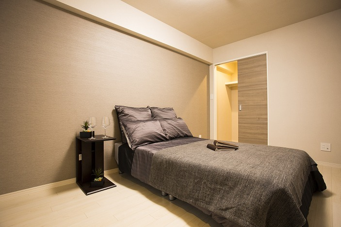 主寝室は7帖を確保。ゆったりした空間です。