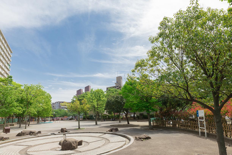 梅田亀田公園 徒歩約8分(約688m)