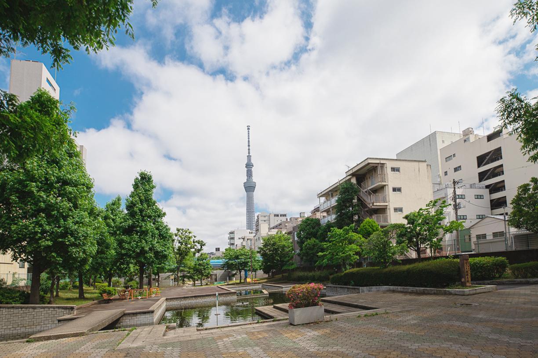 大横川親水公園  徒歩約6分(約435m)