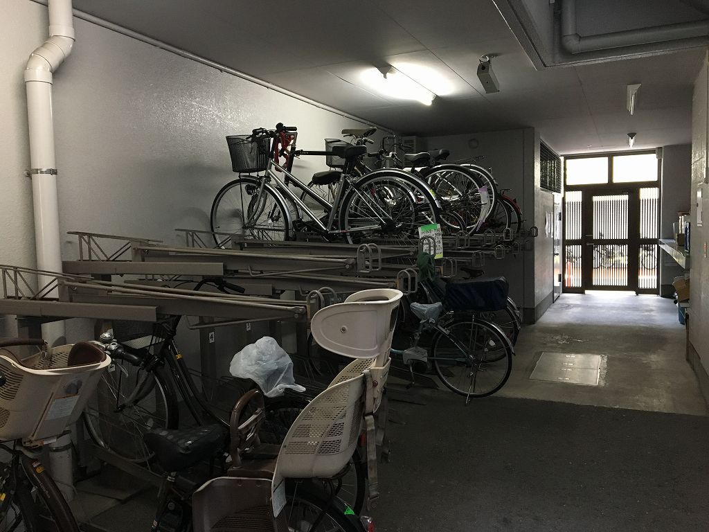 自転車置き場空き有り(平成30年11月23日現在)