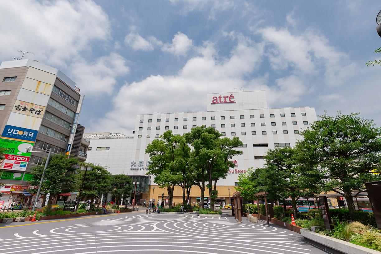 大森駅東口駅前広場  徒歩約2分(約130m)