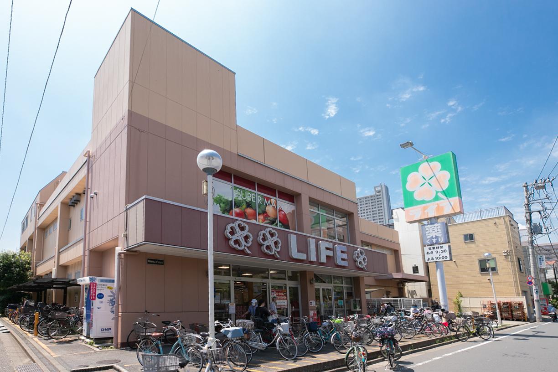 ライフ東向島店 徒歩11分(約850m)