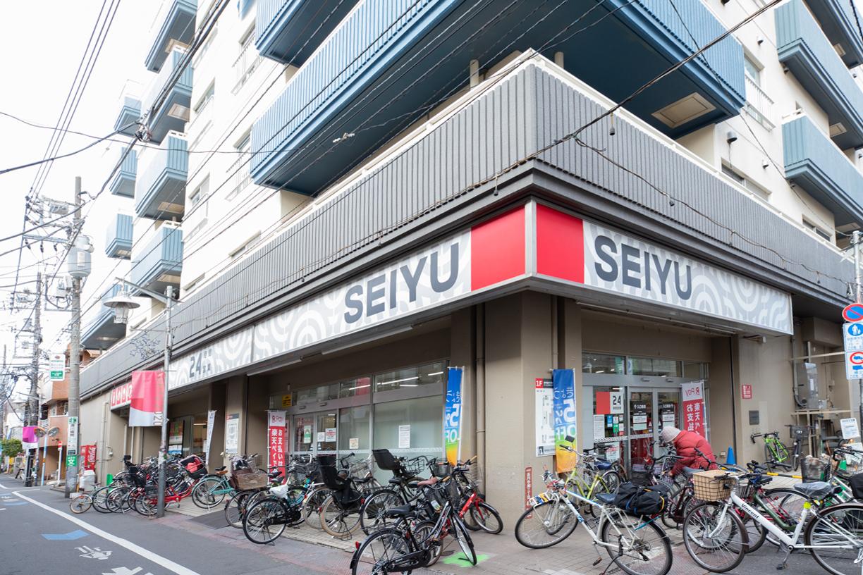 西友高円寺店 徒歩約4分(約320m)