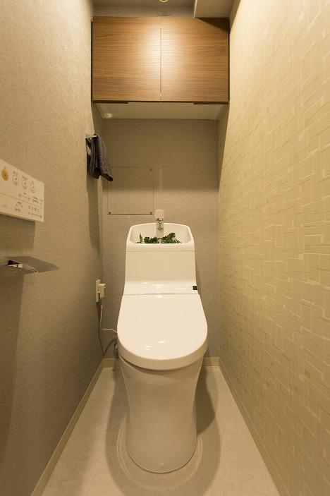 ウォッシュレット・自動洗浄機能付のトイレ