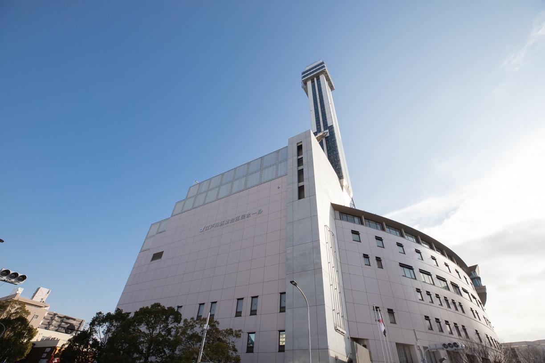 江戸川区総合区民ホール   徒歩約8分(約620m)