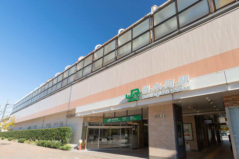 JR京浜東北線、横浜線「桜木町」駅 徒歩約9分