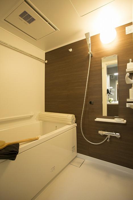 浴室換気乾燥機能付のユニットバス