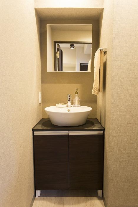 ホテルライクな洗面化粧台