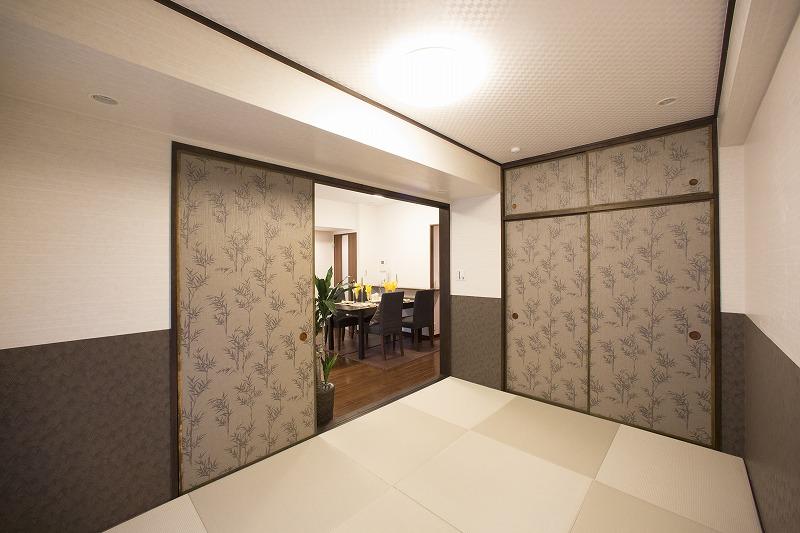 デザインを生かした和室