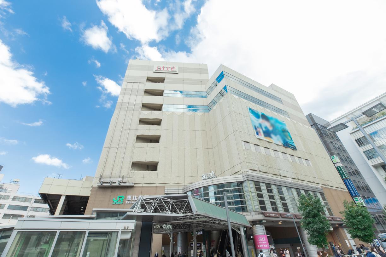 JR山手線「恵比寿」駅 徒歩約7分(約650m)