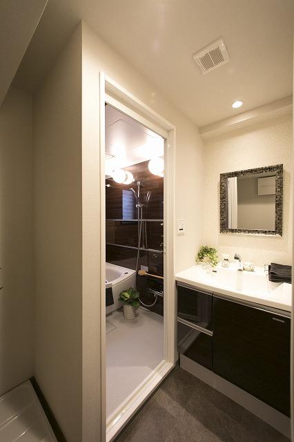 解放感のある洗面室
